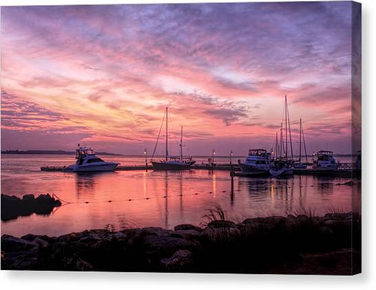 A New Day Dawning  Canvas Print
