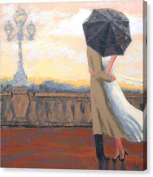 Love Canvas Print - A New Day by Thalia Kahl