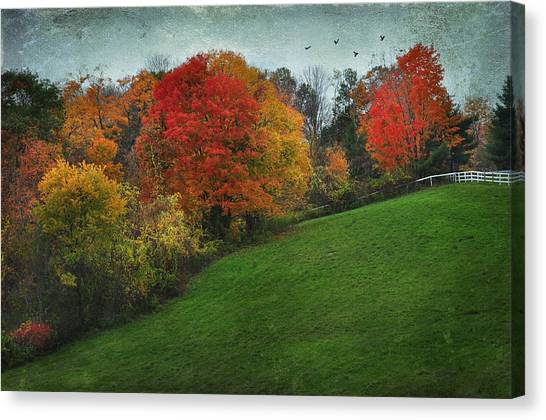 A New England Autumn Canvas Print