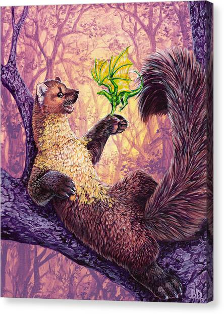 A New Friend Canvas Print