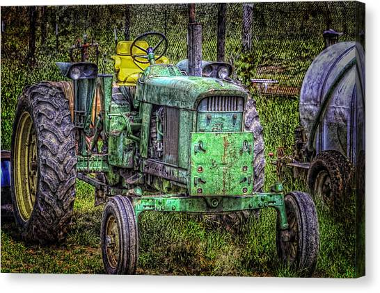 A New Seat Canvas Print