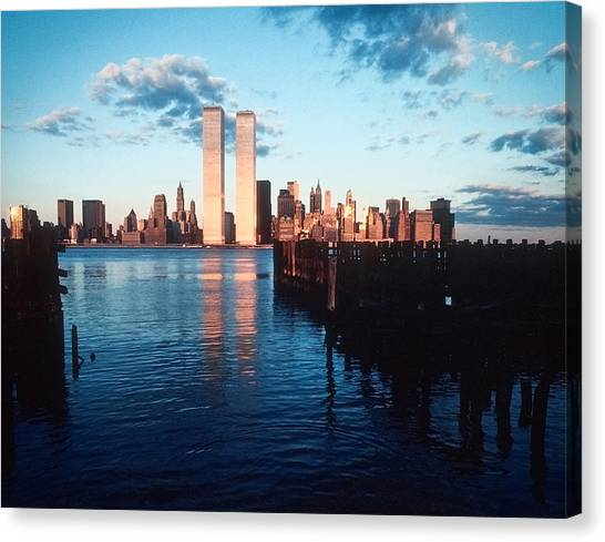 New York Sunset 1978 Canvas Print