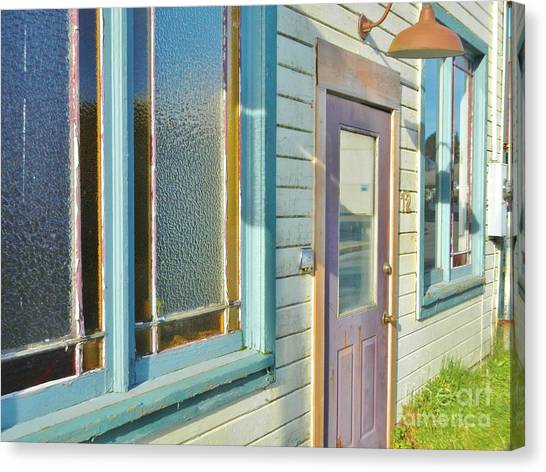 Canvas Print featuring the photograph A Painted House by Laura  Wong-Rose