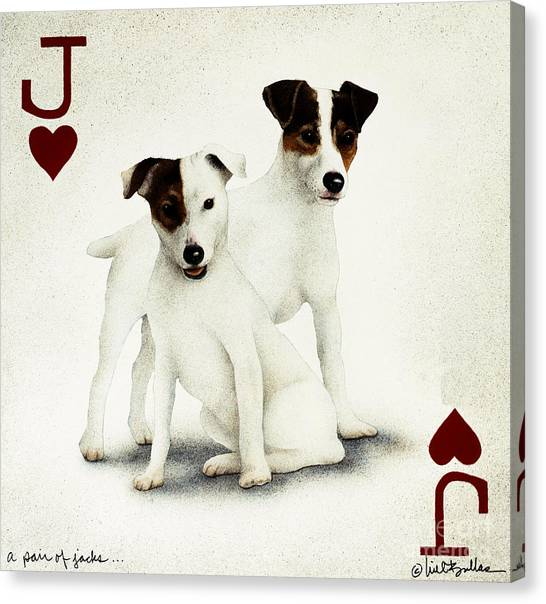 A Pair Of Jacks... Canvas Print