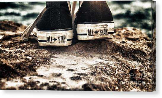 All Star Canvas Print - A Pair Of Stars by Stelios Kleanthous