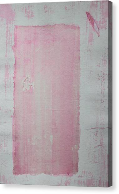 A Paler Shade Of Pink Canvas Print