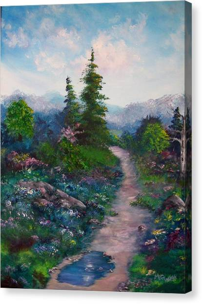 A Path Unknown Canvas Print