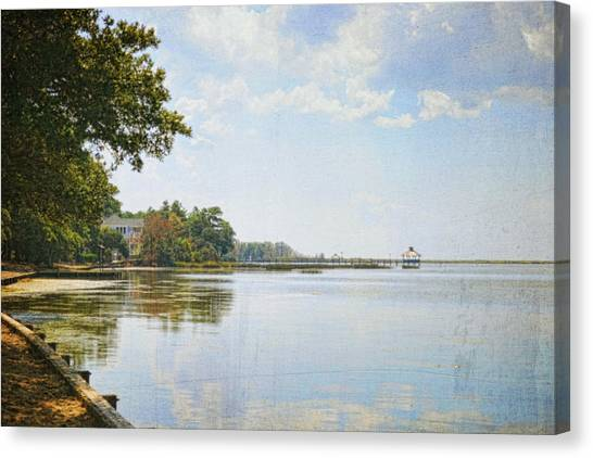 A Perfect Currituck Day Canvas Print
