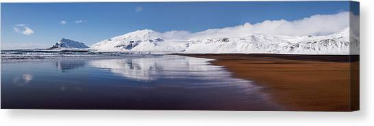 Panorama Canvas Print - A Perfect Day by Karsten Wrobel