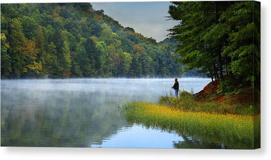A Perfect Morning Canvas Print