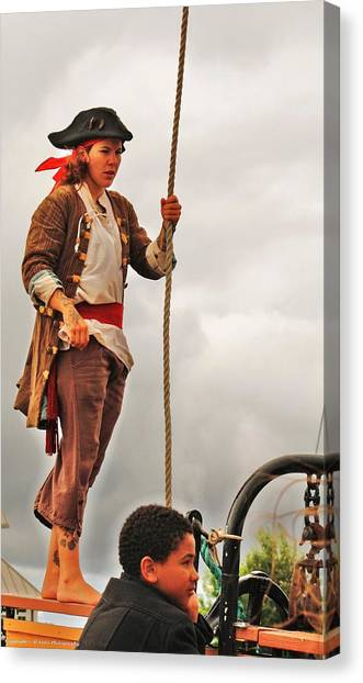 A Pirates Life Canvas Print by Al Fritz