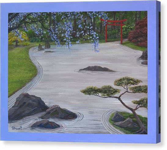A Place Of Meditation Canvas Print