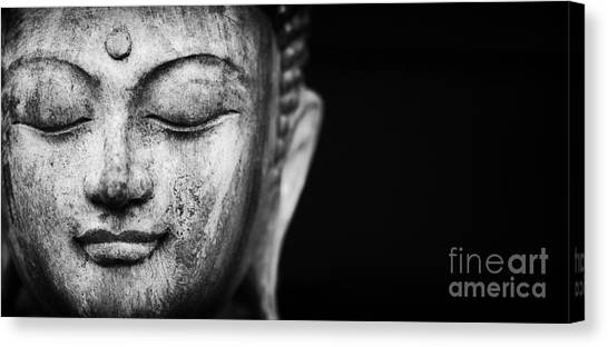 Buddha Canvas Print - A Place To Be by Tim Gainey