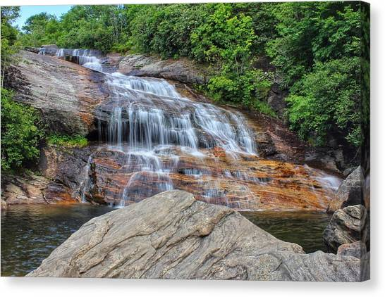 A Place To Cool Off Canvas Print
