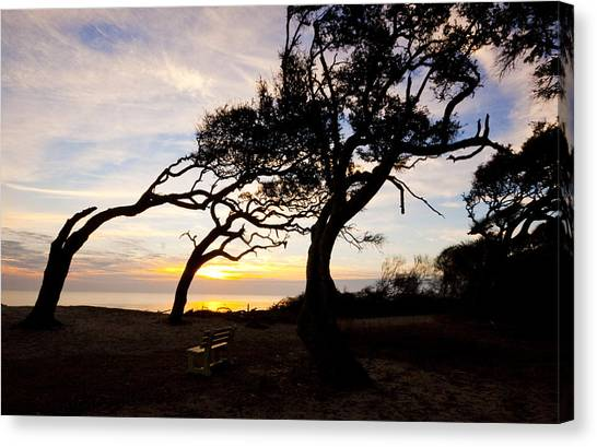 A Place To Watch The Sunrise Canvas Print by Michael Ray