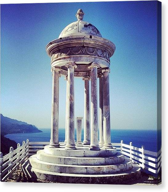 Prince Canvas Print - A Popular #wedding Venue In #mallorca by Balearic Discovery