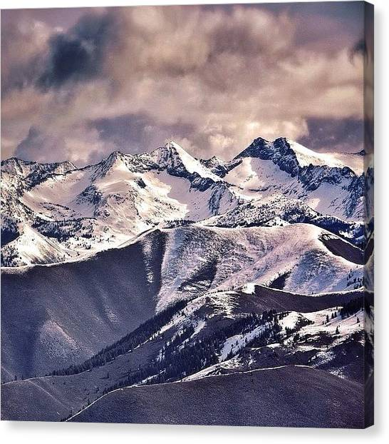 Idaho Canvas Print - A Product Of My Environment I Shall by Cody Haskell