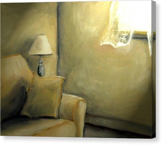 A Quiet Room Canvas Print