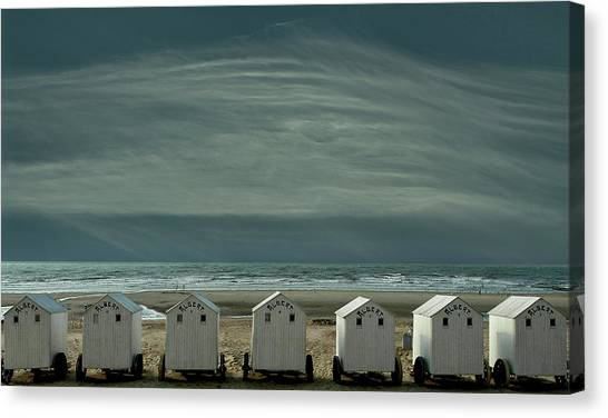 Belgium Canvas Print - A Quiet Spot By The Sea, Just To 'be' ... by Yvette Depaepe
