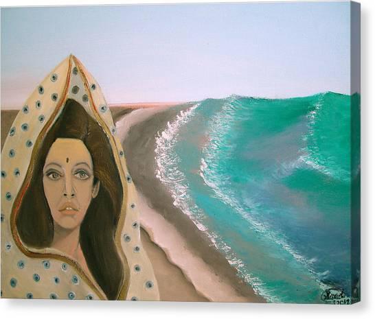 A Rani's Paradise Canvas Print