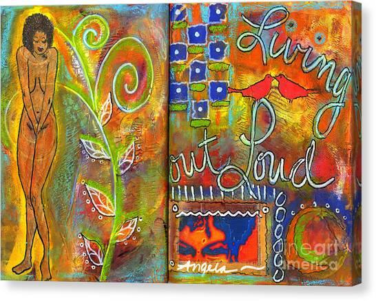 A Rebirth Of Sorts Canvas Print