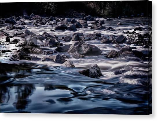 A River Called Iller Canvas Print