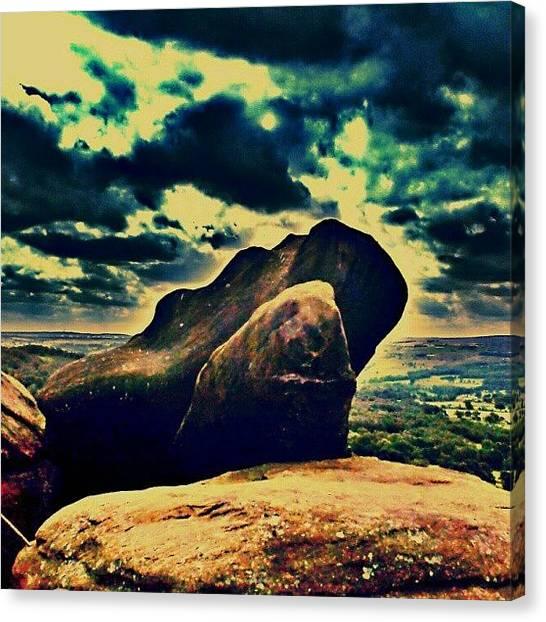 Drake Canvas Print - A Rock!! by Chris Drake