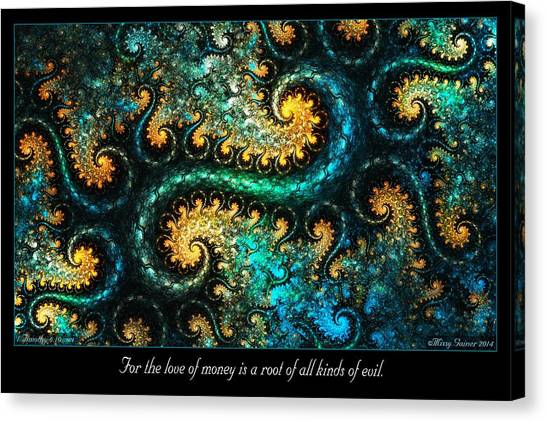 A Root Canvas Print