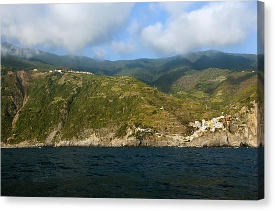 A Sea View Of Manarola Canvas Print