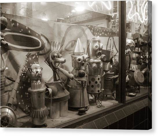Canvas Print - A Shop Window At Berkeley by Hiroko Sakai