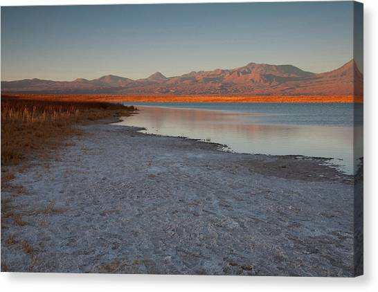 Atacama Desert Canvas Print - A Short Drive From San Pedro De Atacama by Mallorie Ostrowitz