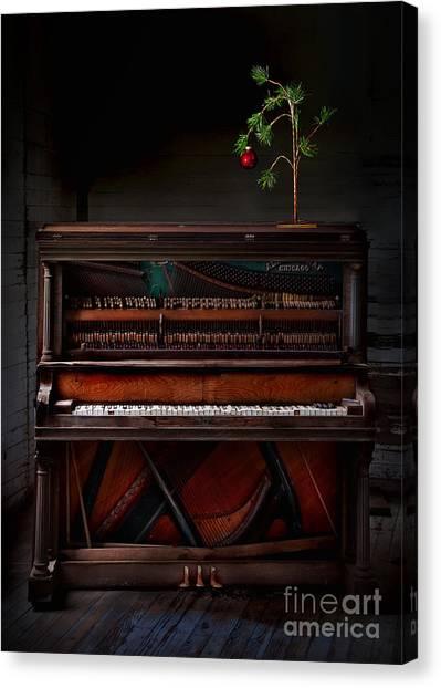 A Simple Christmas No. 1 Canvas Print