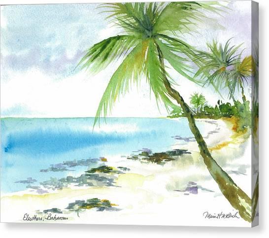 Eleuthera Art Canvas Print - A Slice Of Paradise by Maria McBride