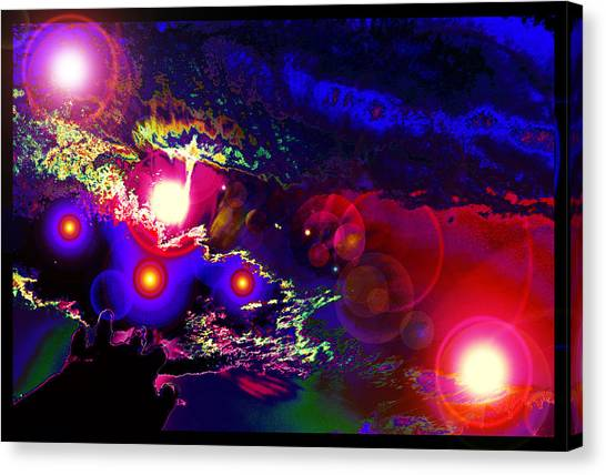 A Small Act Of Evening Magic Canvas Print
