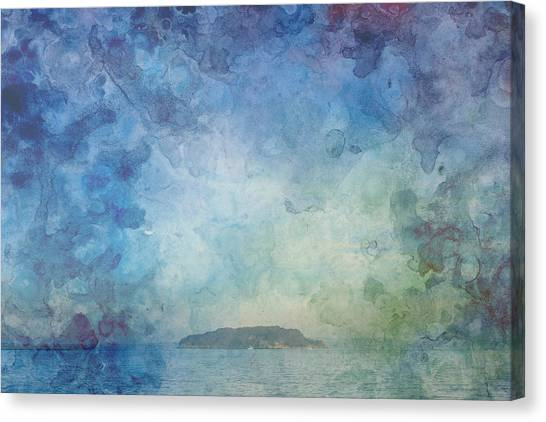 A Small Island Canvas Print