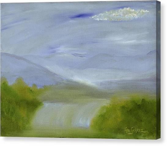 A Soft Day Canvas Print by Leo Gehrtz