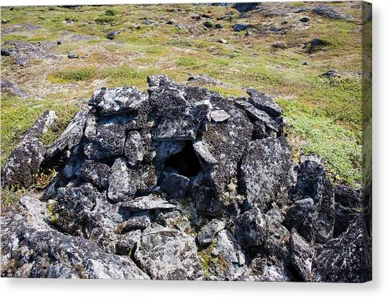 Tundras Canvas Print - A Stone Chambered Cairn by Ashley Cooper