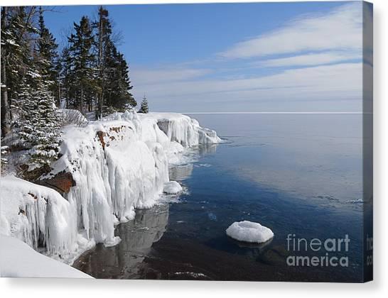 A Superior Winter Day #2 Canvas Print