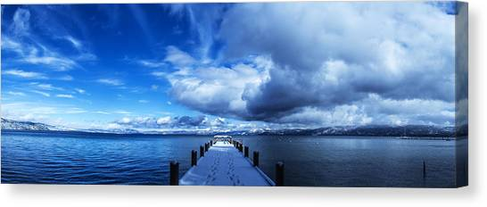 A Tahoe Winters Dream Canvas Print