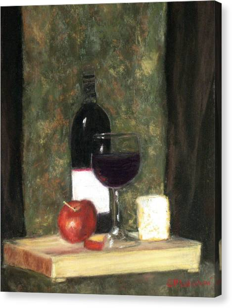 A Taste Of Merlot Canvas Print