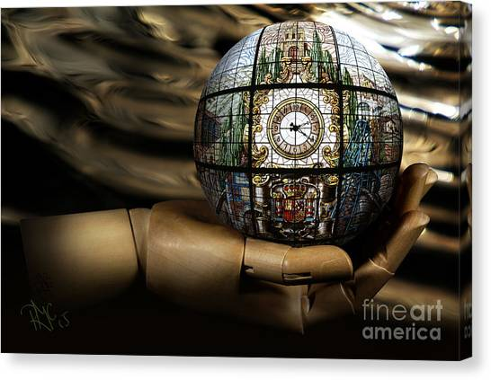 A Times Droplet Meditation Canvas Print