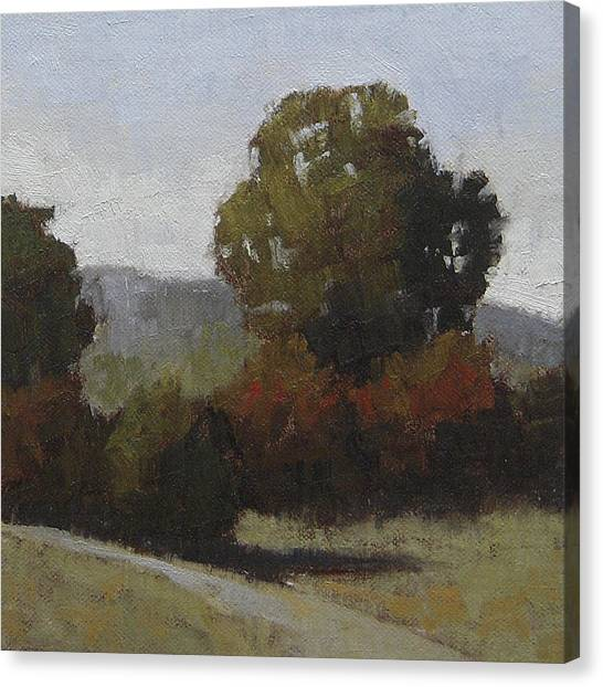 Robert Frank Canvas Print - A Touch Of Fall by Robert Frank
