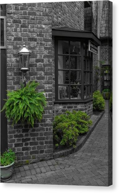 Gatlinburg Tennessee Canvas Print - A Touch Of Green In The City by Dan Sproul