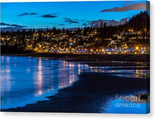 A Town Called White Rock - By Sabine Edrissi Canvas Print