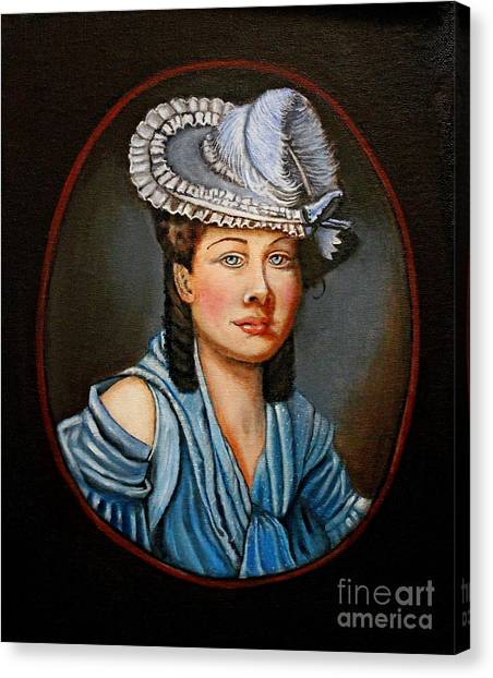 A Tribute To Lady Constance Canvas Print