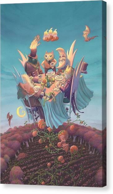 A Twilight Affair Canvas Print