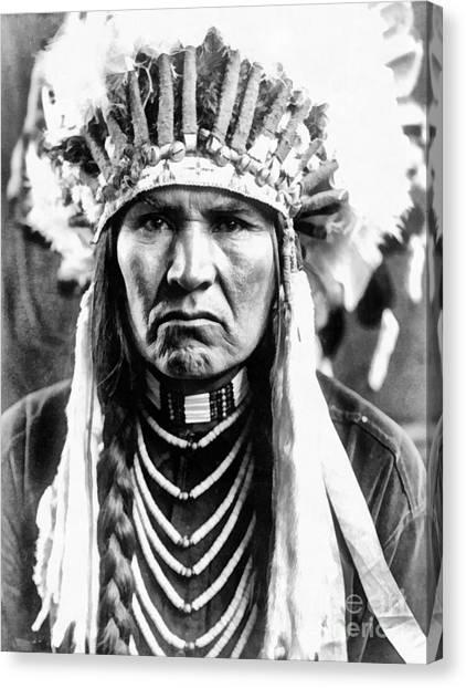 A Typical Nez Perce Canvas Print