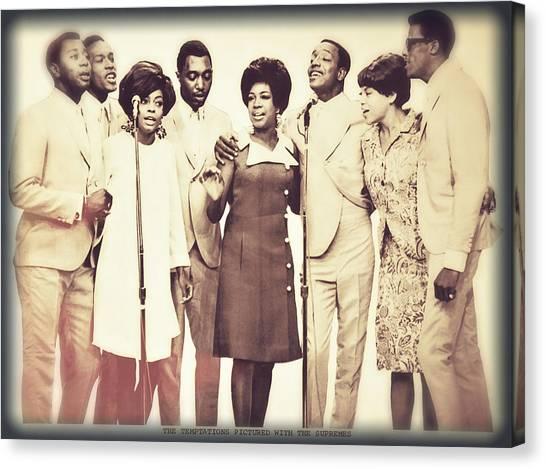 Motown Harmony Canvas Print