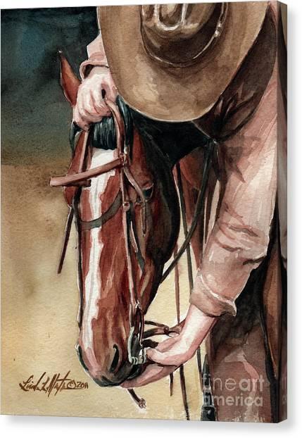 A Useful Horse Canvas Print
