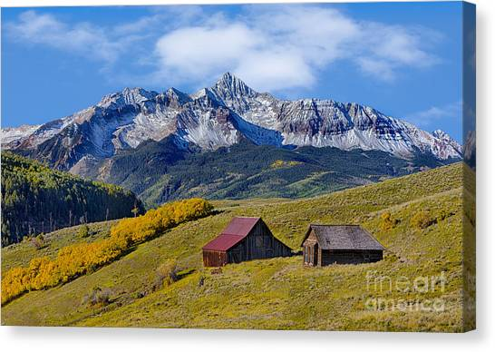 A View From Last Dollar Road Canvas Print